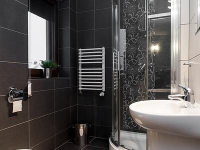 Łazienka z prysznicem, u kruka groń białka tatrzańska